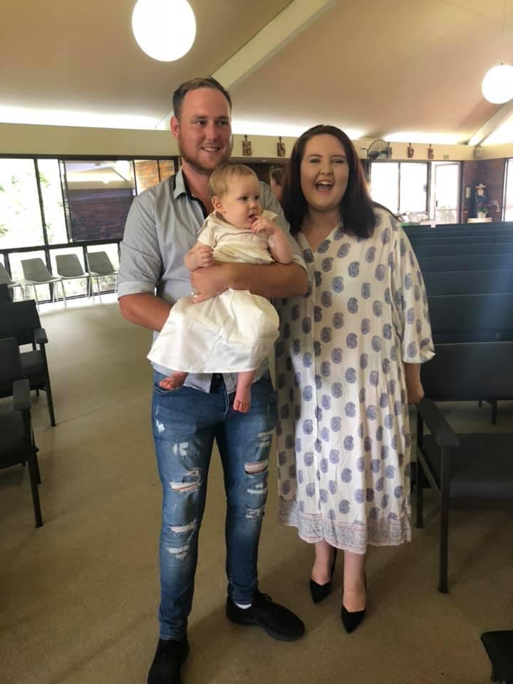Lorenzo's baptised photo