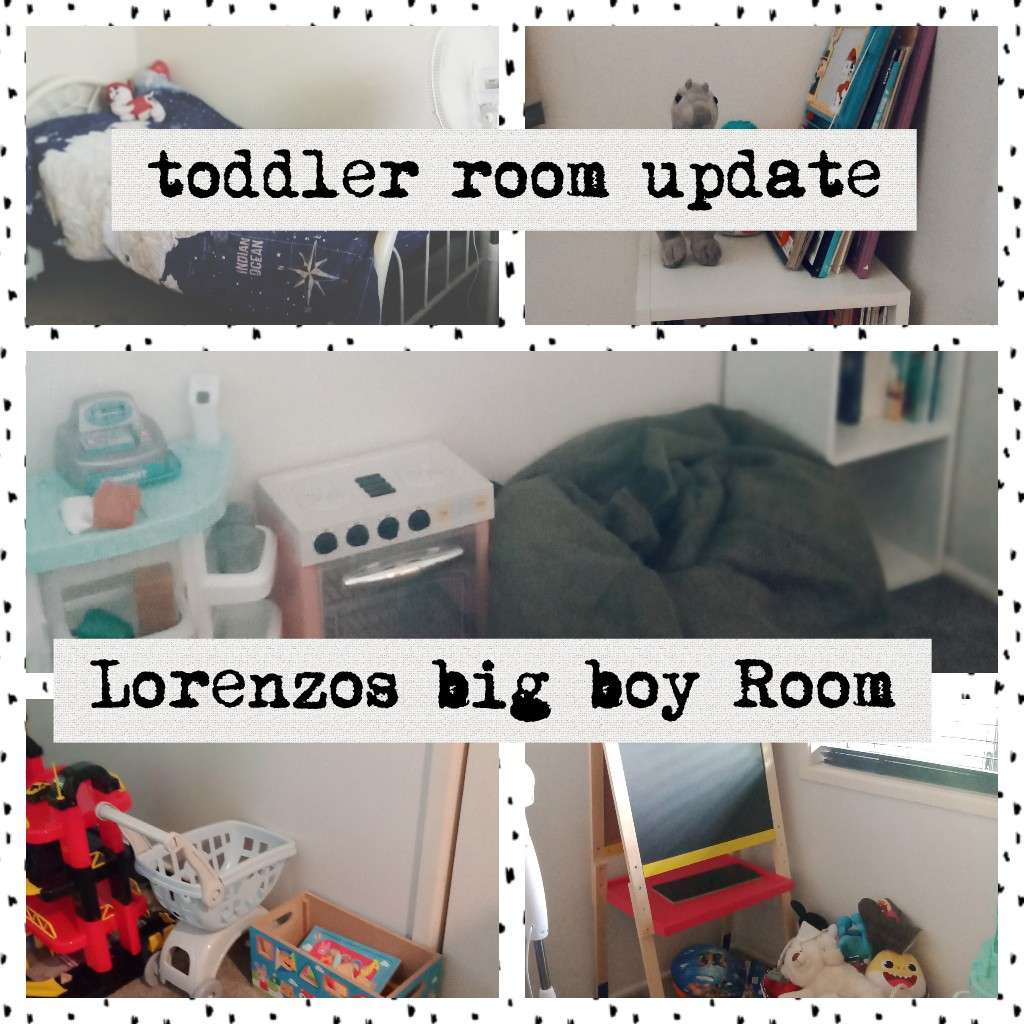 Toddler room update