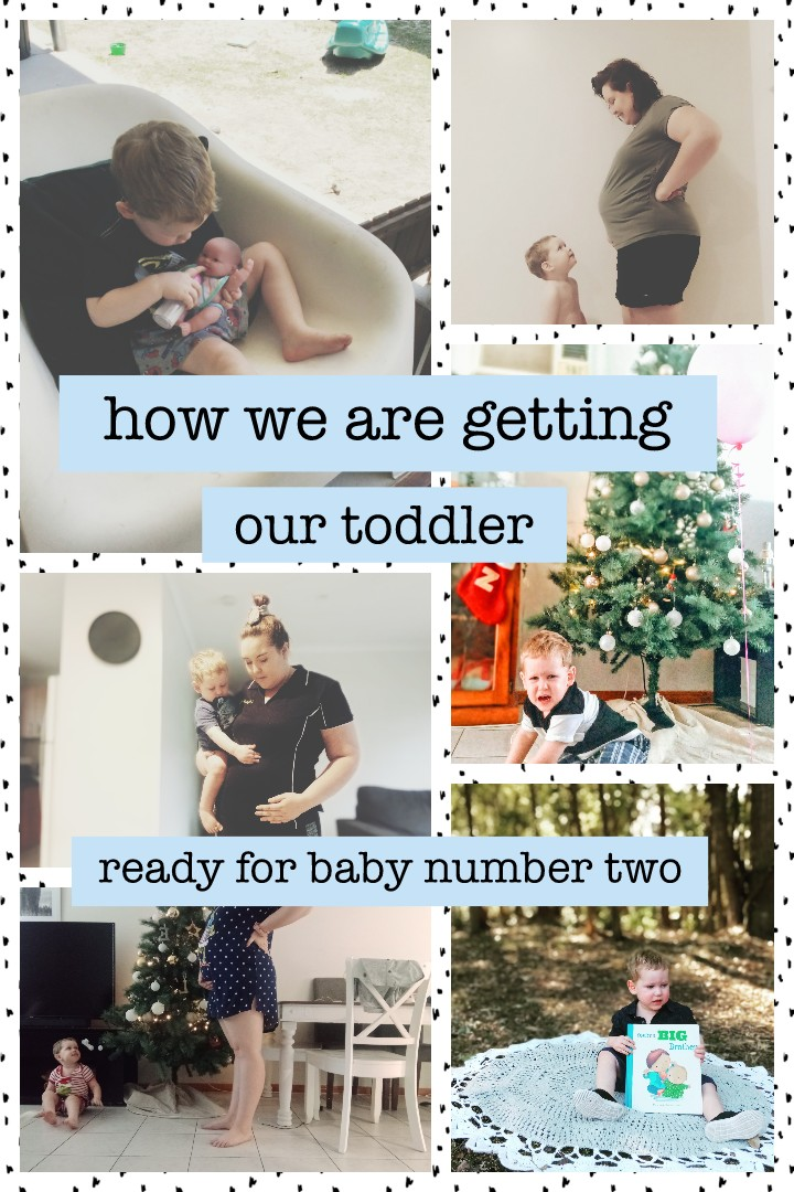 How we are preparing our toddler for our new arrival